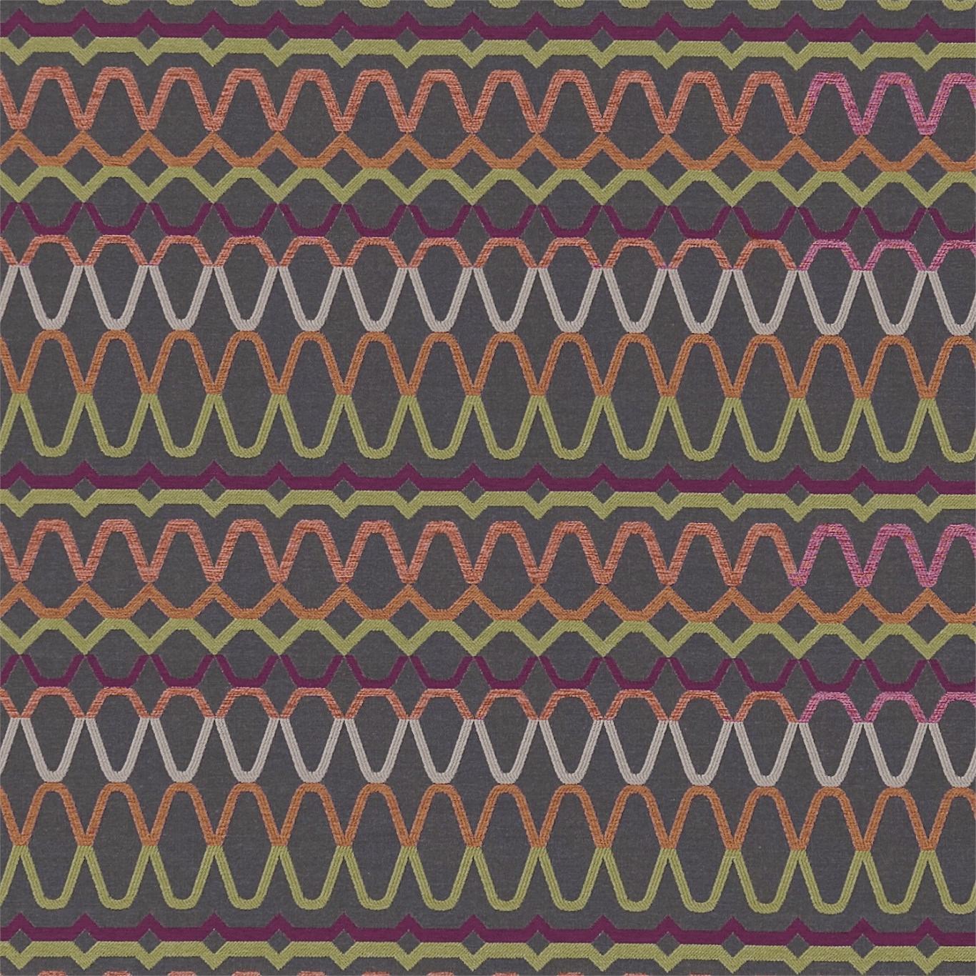 Ada Fabric Slate Spice Pear By Scion 131197