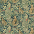 Morris and Co Forest (Velvet) Azure Fabric