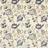 Sanderson Roslyn Indigo/Gold Fabric