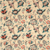 Sanderson Roslyn Teal/Cherry Fabric
