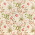 Sanderson Mauritius Coral/Ivory Fabric