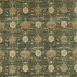 Morris and Co Montreal Velvet Forest/Teal Fabric