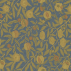 Morris and Co Fruit Blue/Thyme Fabric