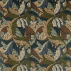 Morris and Co Acanthus Slate Blue/Thyme Fabric
