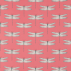 Harlequin Demoiselle Coral/Mint Fabric