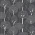 Harlequin Silhouette Graphite Silver Black Fabric