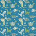 Harlequin Jolly Jurassic Ocean Khaki and Natural Fabric