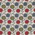 Scion Anneke Poppy/Kiwi/Charcoal Fabric