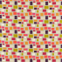 Scion Blocks Putty Plum Fuchsia Lime and Tangerine Fabric