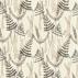 Scion Athyrium Chalk Pewter and Biscuit Fabric