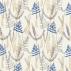 Scion Athyrium Chalk Denim and Biscuit Fabric