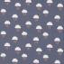 Scion April Showers Denim/Tangerine/Sunshine Fabric