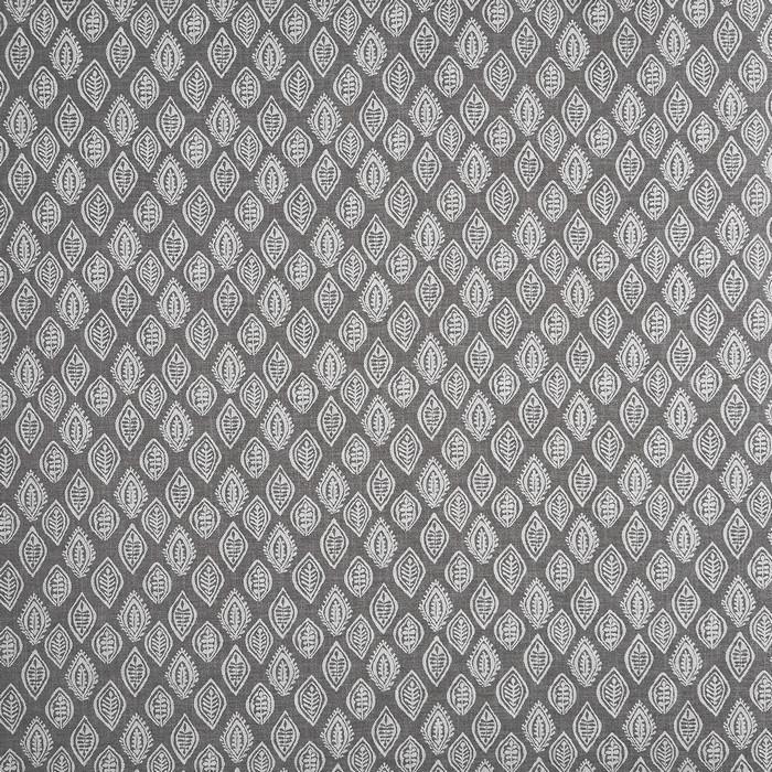 Prestigious Millgate Graphite Charcoal & Seagull Fabric