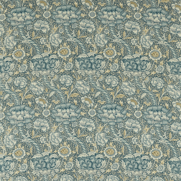 Morris and Co Wandle Blue/Stone Fabric