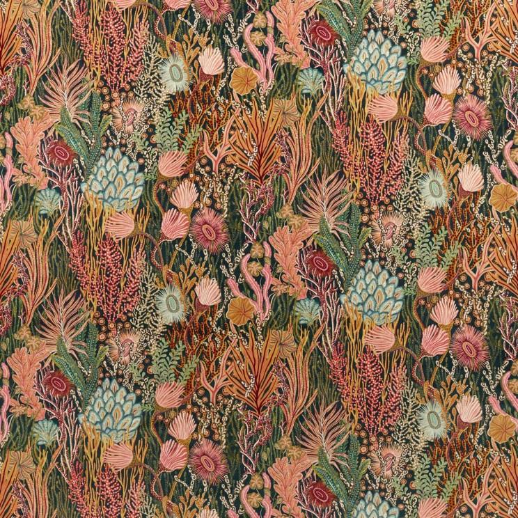 Harlequin Acropora Brazilian Rosewood/Nectar/Tree Canopy Fabric