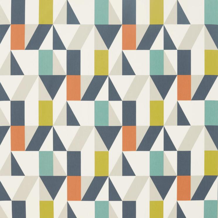 Scion Nuevo Citrus/Paprika/Forest Fabric