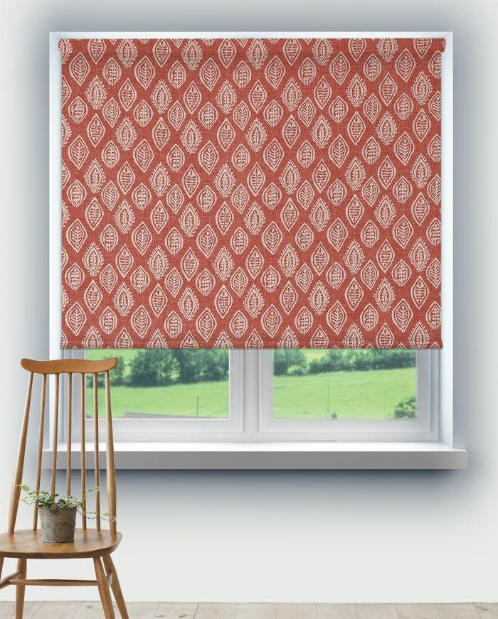 Roller Blinds Prestigious Millgate Coral Fabric 3735/406