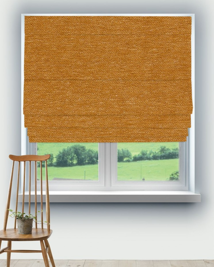 Roman Blinds Morris and Co Dearle Fabric 236534