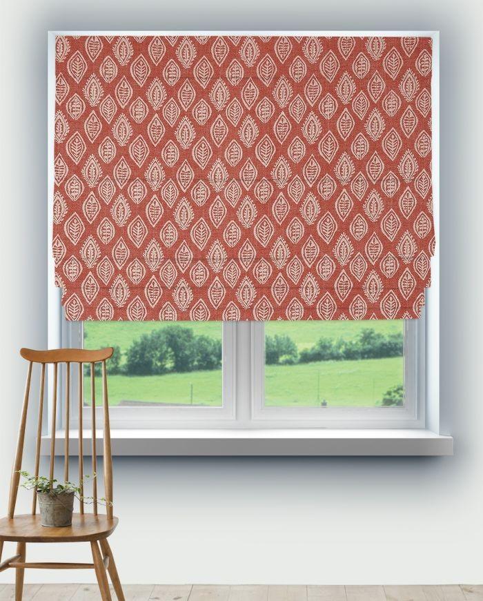 Roman Blinds Prestigious Millgate Coral Fabric 3735/406