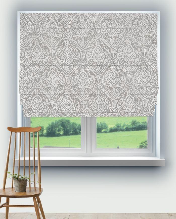 Roman Blinds Prestigious Rosemoor Sterling Fabric 3736/946