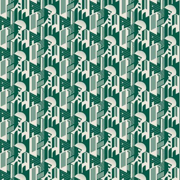 Mini Moderns Bauhaus Wallpaper