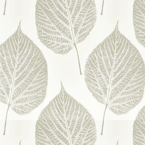 Harlequin Leaf Wallpaper