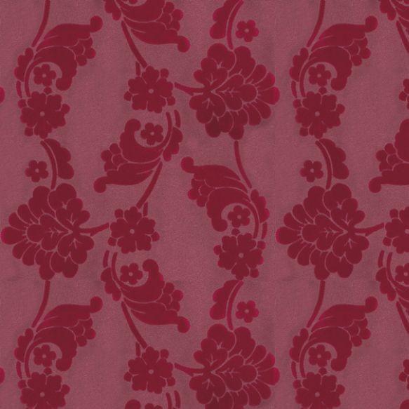 Anna French Velvet Jacquard Flock Wallpaper