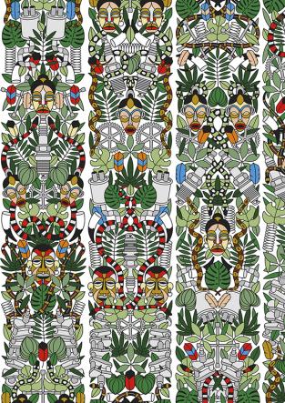 Studio Job L'Afrique Wallpaper