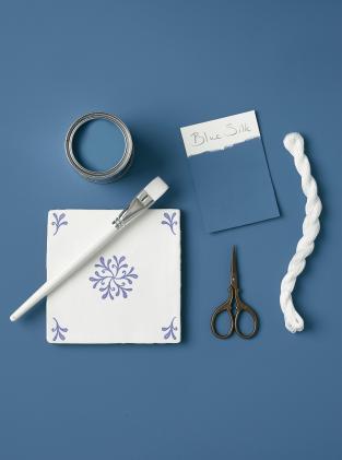 Rust-Oleum Paint Blue Silk