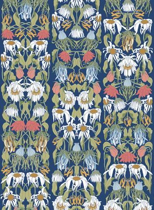Studio Job Withered Flowers - Colours Wallpaper