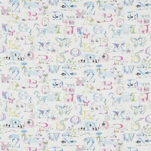 Sanderson Alphabet Zoo Fabric