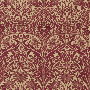 Morris and Co Bluebell Fabric