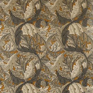 Morris and Co Acanthus Fabric