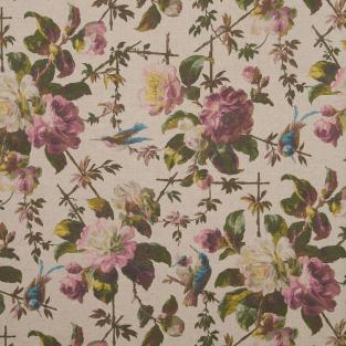 Oasis Renaissance Linen Fabric