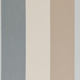 Clarke and Clarke Lawn Stripe Mineral Fabric