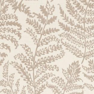 Clarke and Clarke Wild Fern Natural Fabric