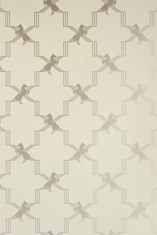 Barneby Gates Horse Trellis Wallpaper