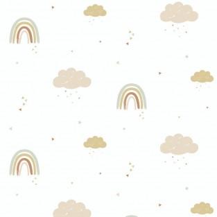 Hibou Home Rainbows Wallpaper