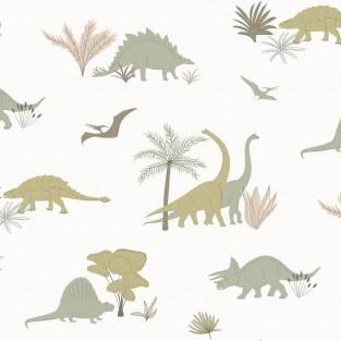 Hibou Home Dinosaurs  Wallpaper