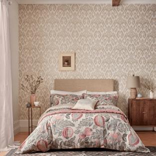 Sanderson Cantaloupe in Blush & Dove Bedding
