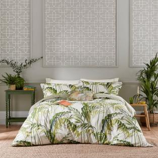 Sanderson Palm House in Botanical Green Bedding
