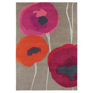 Sanderson Poppies Rug